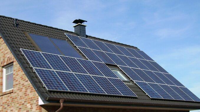 Solardach und Photovoltaik