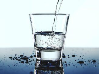 Viel Wasser trinken ist gesund