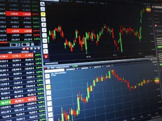 Börsenkurs beim Daytrading