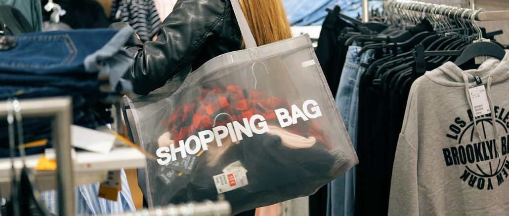 Größentabellen beim Shoppen