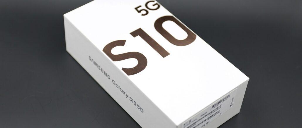 Samsung Galaxy S10 im Check und Test
