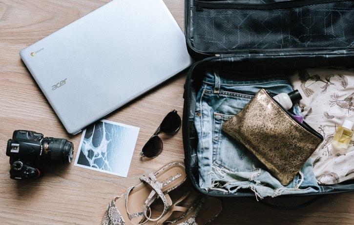 Richtig packen ist nur einer der Herausforderungen der Urlaubsplanung.