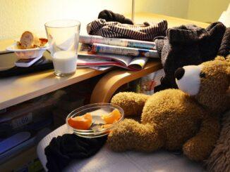 Unordnung Zuhause - Entümpeln und Ordnung schaffen
