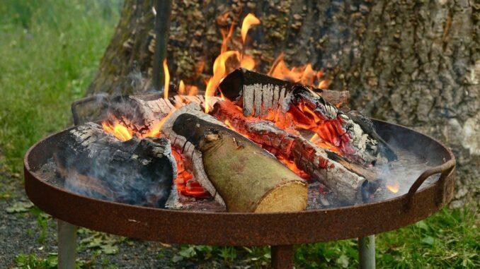 Feuerschale für den Garten