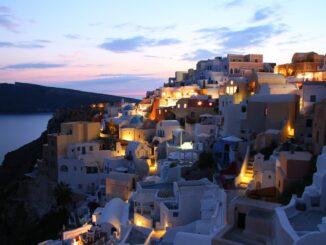 Urlaub auf Santorin
