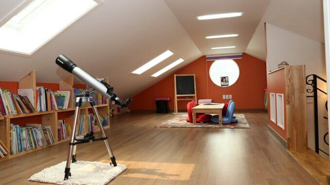 Wohnflächenberechnung im Dachgeschoss