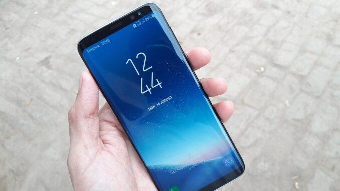 Samsung Galaxy S8 Display Reparatur nach einem Sturz