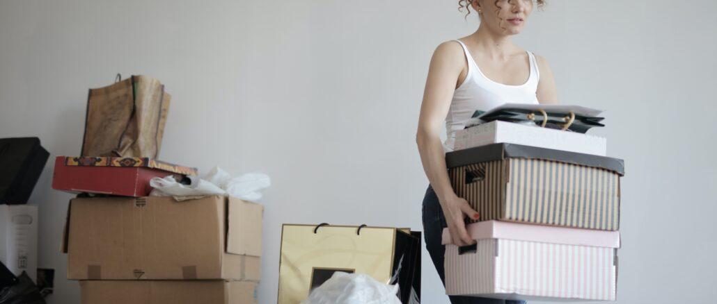 Umzugsplanung und Organisation