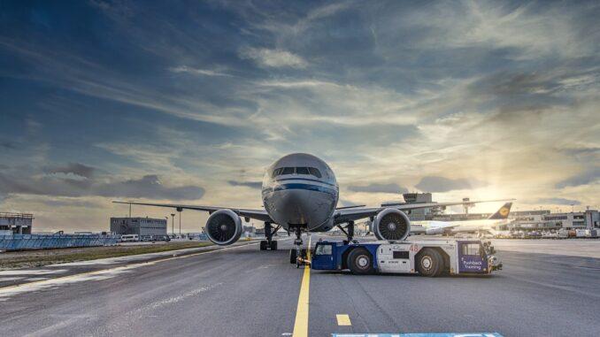 Flugverspätung am Flughafen